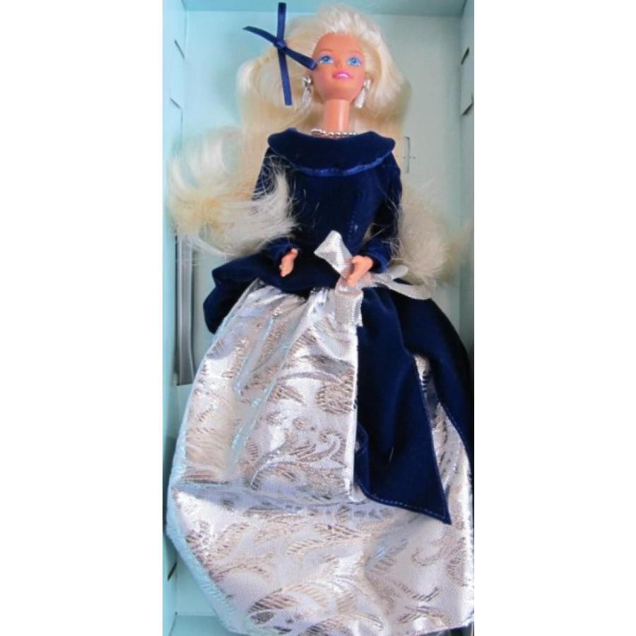 バービー人形 おもちゃ 着せ替え SPECIAL EDITION Barbie WINTER VELVET DOLL Avon EXCLUSIVE 1st Series (1995) 輸入品