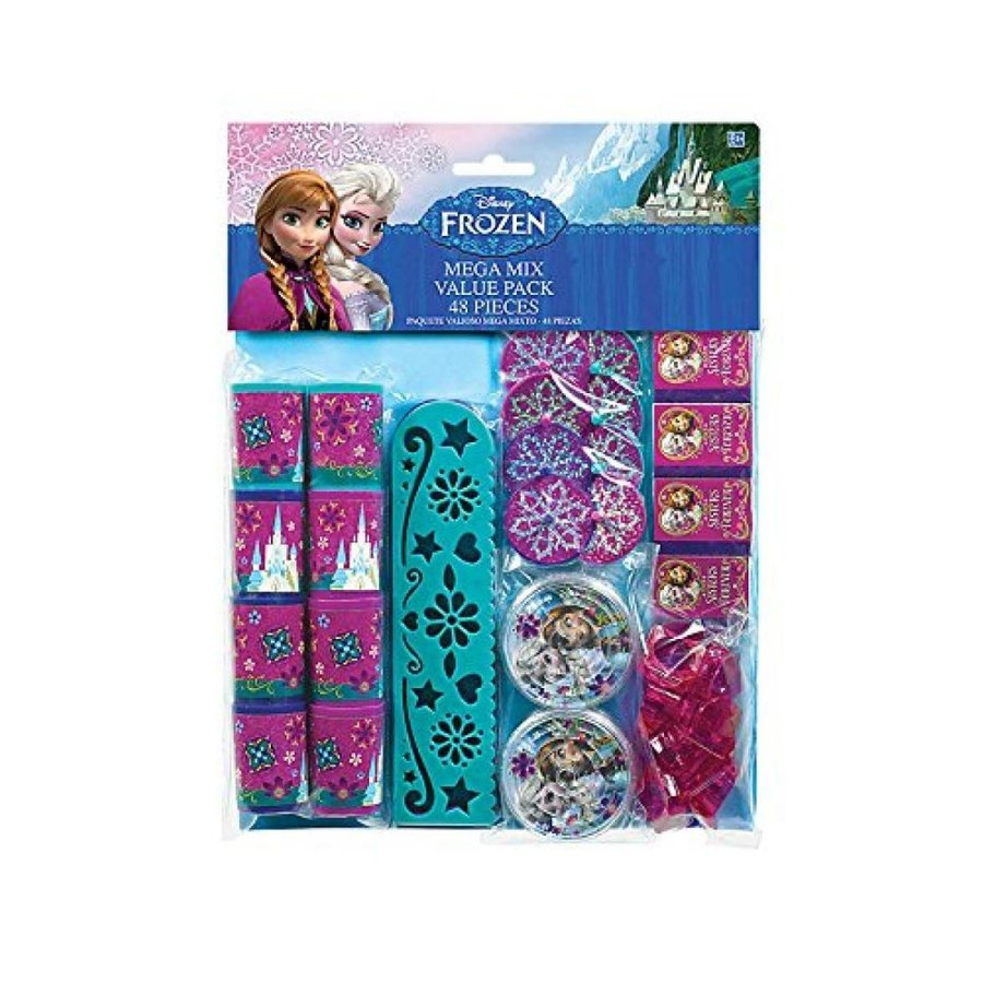 アナと雪の女王 おもちゃ フィギュア Frozen 48pc Favor Pack Mega Mix Value Pack 輸入品