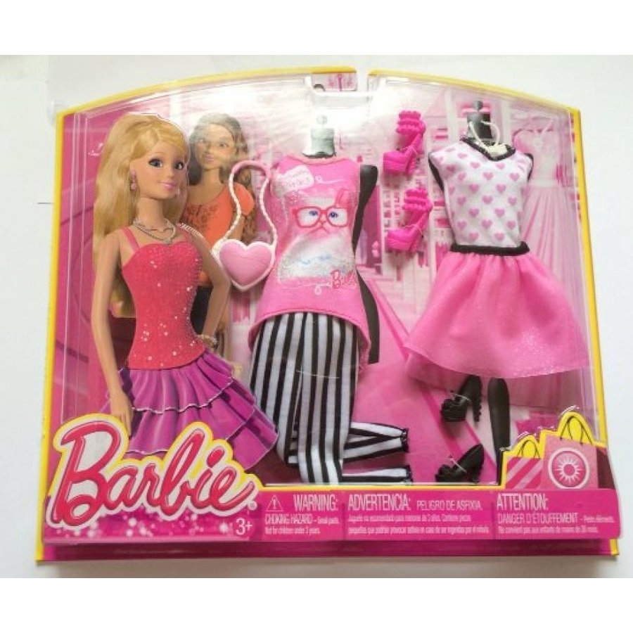 バービー人形 着せ替え おもちゃ Barbie Day Looks Fashions Pretty in ピンク 輸入品