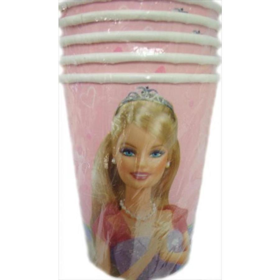 バービー人形 着せ替え おもちゃ Barbie 'Celebration' Paper Cups (8ct) 輸入品