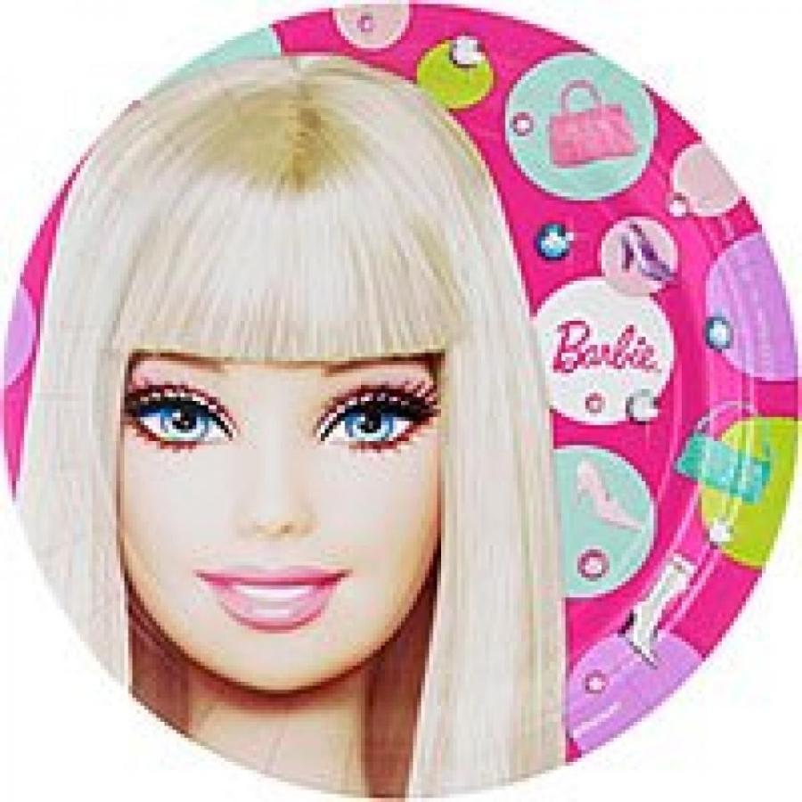 バービー人形 着せ替え おもちゃ Barbie All Doll D Up Plates (L) 8 Ct [3 Retail Unit(s) Pack] - 559379 輸入品