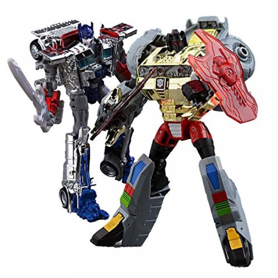 トランスフォーマー おもちゃ 変形 合体ロボ Transformers Age of Extinction 銀 Knight Optimus