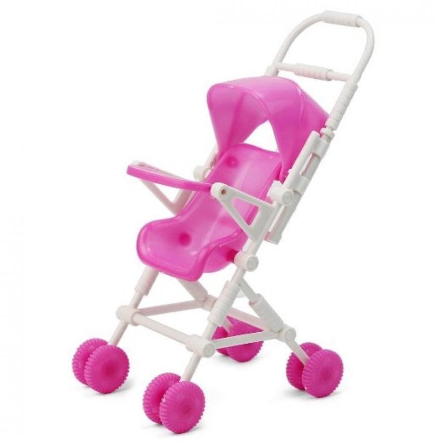 バービー人形 着せ替え おもちゃ Mini Barbie Little Sister Kelly Baby Infant Stroller Carriage DIY Assemble New 輸入品