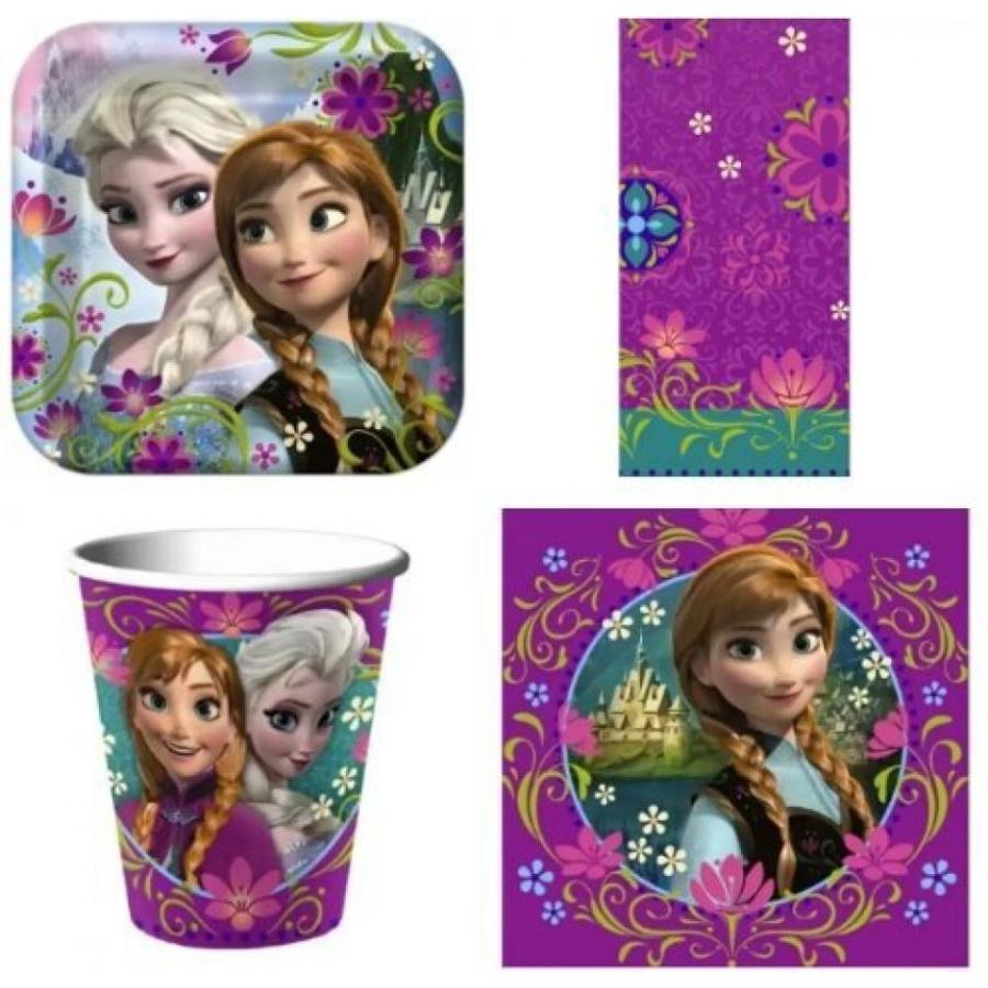 アナと雪の女王 おもちゃ フィギュア Disney Frozen Party Pack for 16 Guests! Toy, Kids, Play, Children 輸入品