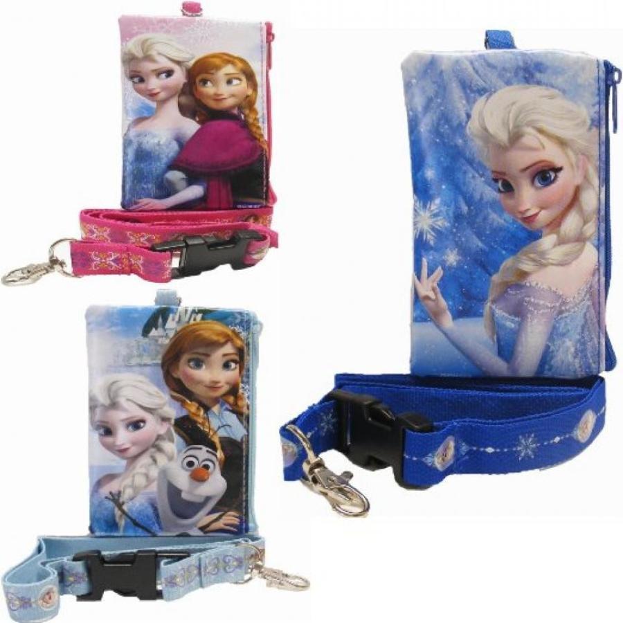 アナと雪の女王 おもちゃ フィギュア 3 Disney Frozen Lanyards with Coin Purse 輸入品
