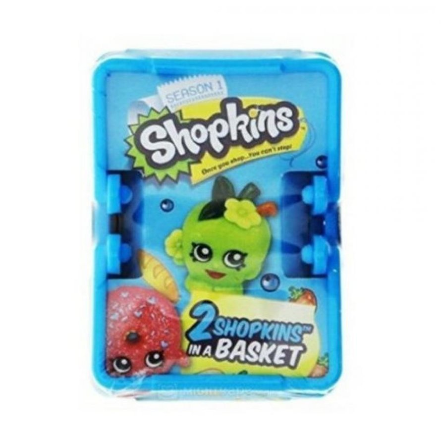アナと雪の女王 おもちゃ フィギュア Shopkins Shopping Basket - Includes 2 Shopkins! 輸入品
