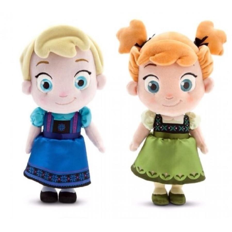 アナと雪の女王 おもちゃ フィギュア Disney Store Frozen Elsa & Anna Toddler Plush Dolls 12