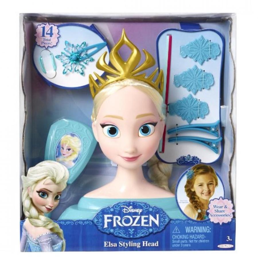 アナと雪の女王 おもちゃ フィギュア Disney Frozen Elsa Styling Head 輸入品