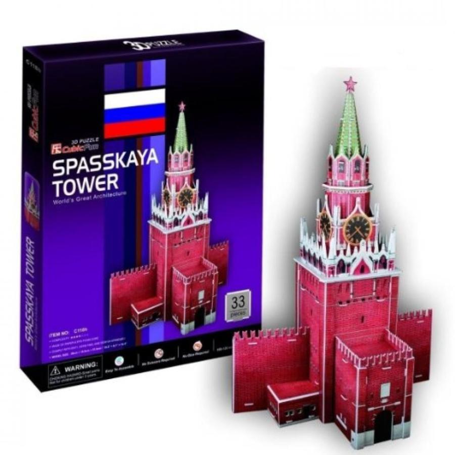 アナと雪の女王 おもちゃ フィギュア 3D Puzzle Spasskaya Tower - Moscow Castle Jigsawa 輸入品