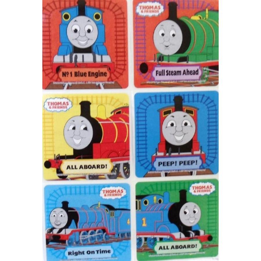 アナと雪の女王 おもちゃ フィギュア THOMAS THE TRAIN Stickers- THOMAS THE TRAIN Birthday Par