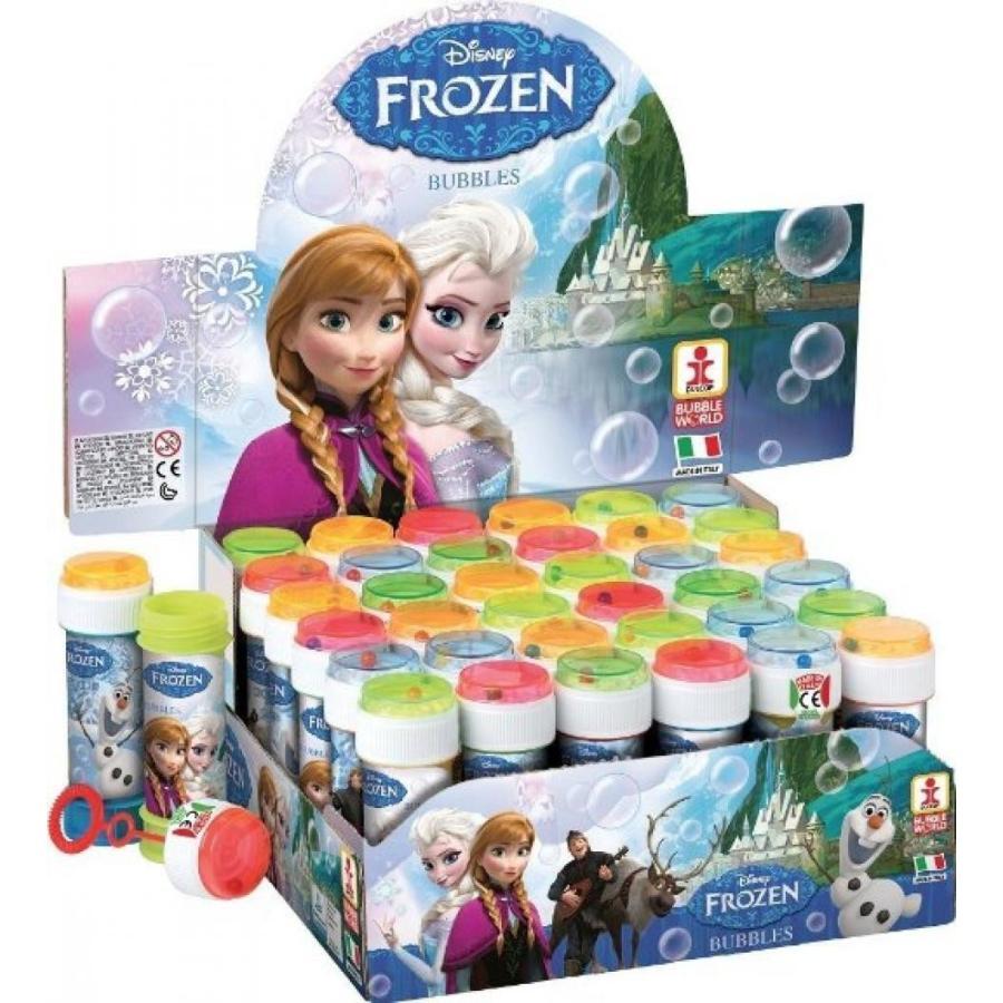 アナと雪の女王 おもちゃ フィギュア Box of Childrens Girls FROZEN Elsa Anna Bubbles Pots Party Bag Stocking Fillers 輸入品