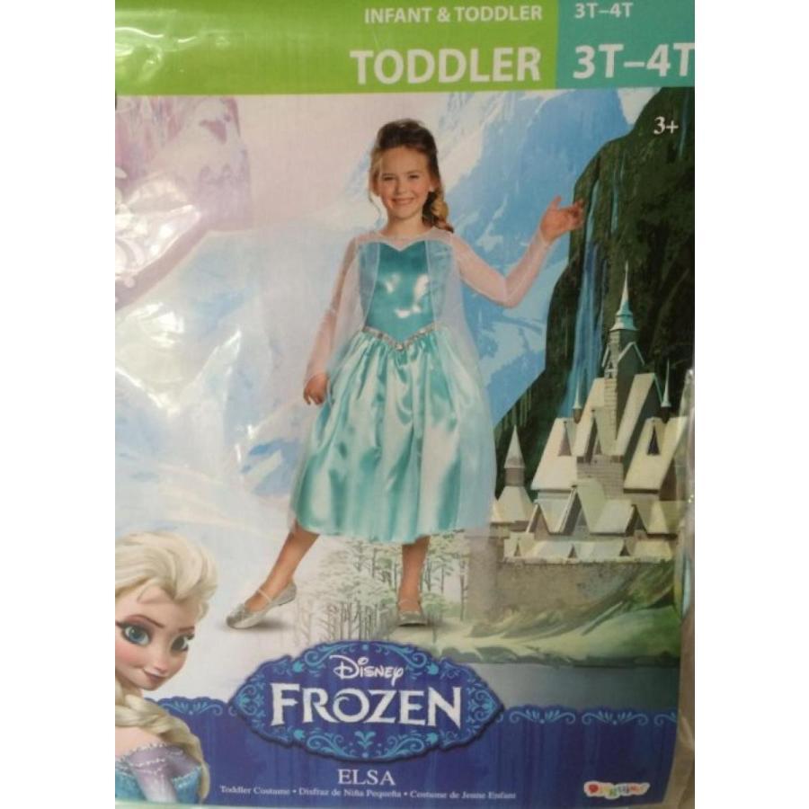 アナと雪の女王 おもちゃ フィギュア Frozen Elsa Toddler Costume 3t-4t 輸入品