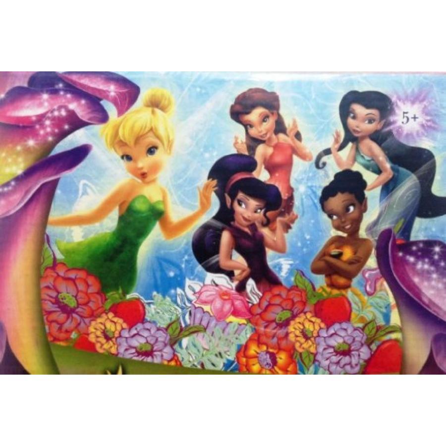 バービー人形 着せ替え おもちゃ Disney Fairies Princess and Friends 500 Piece Jigsaw Puzzle (Fr006) 輸入品