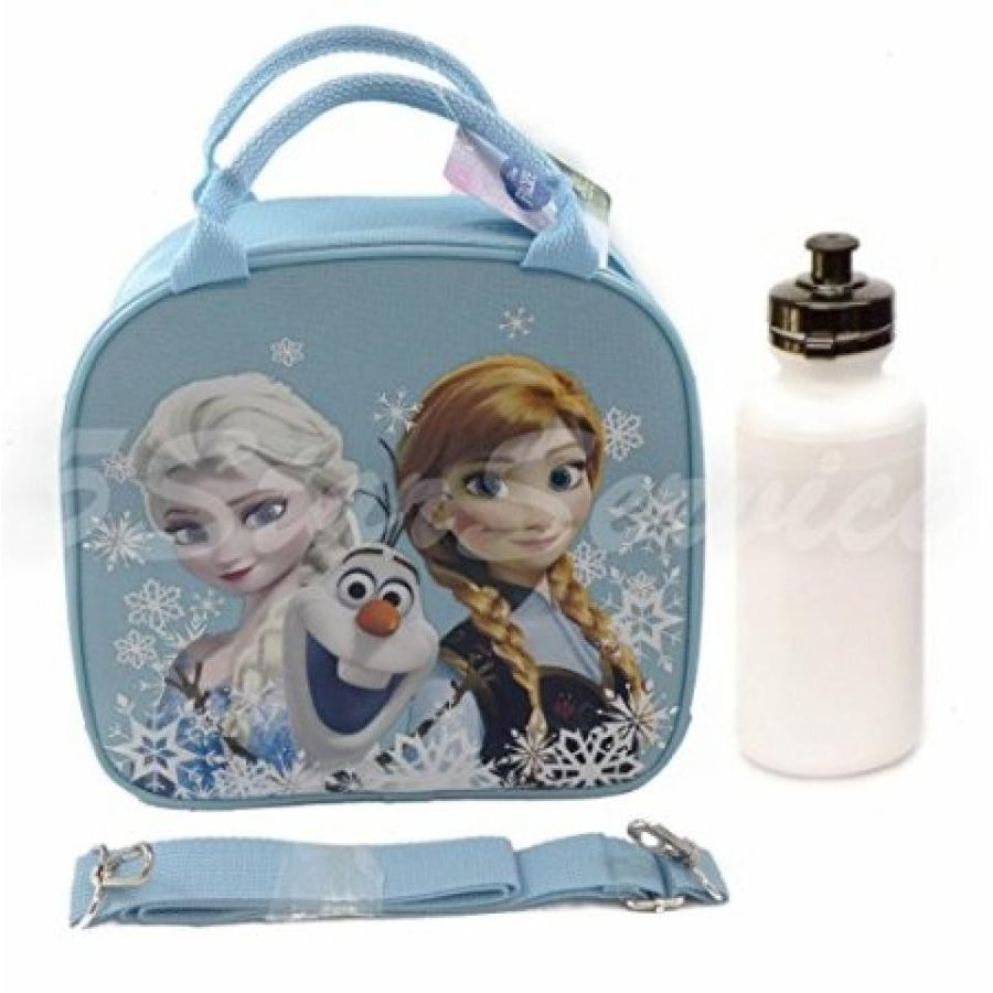アナと雪の女王 おもちゃ フィギュア New Disney Frozen Elsa Anna Olaf Lunch Box Bag w/ Should