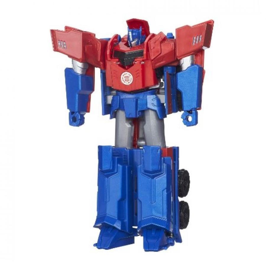 トランスフォーマー おもちゃ 変形 合体ロボ Transformers Robots in Disguise 3-Step Changers Optimus Prime Figure 輸入品