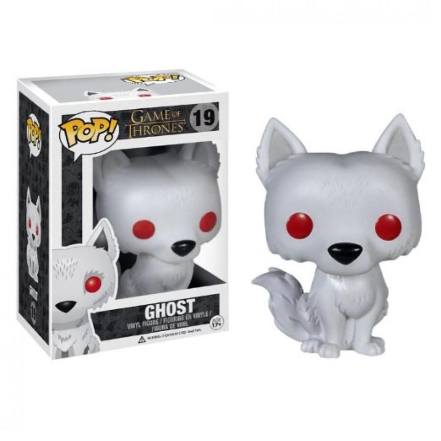 アナと雪の女王 おもちゃ フィギュア Funko Game of Thrones POP! 2014 SDCC Ghost Flocked Exclusive 輸入品