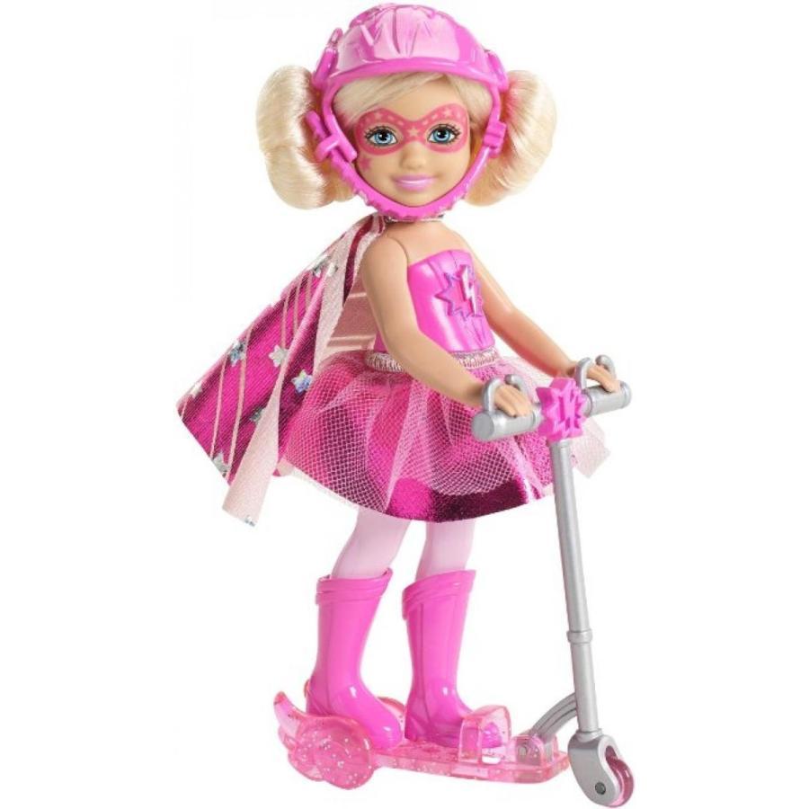 バービー人形 着せ替え おもちゃ Barbie in Princess Power Chelsea and Scooter Doll, ピンク 輸入品