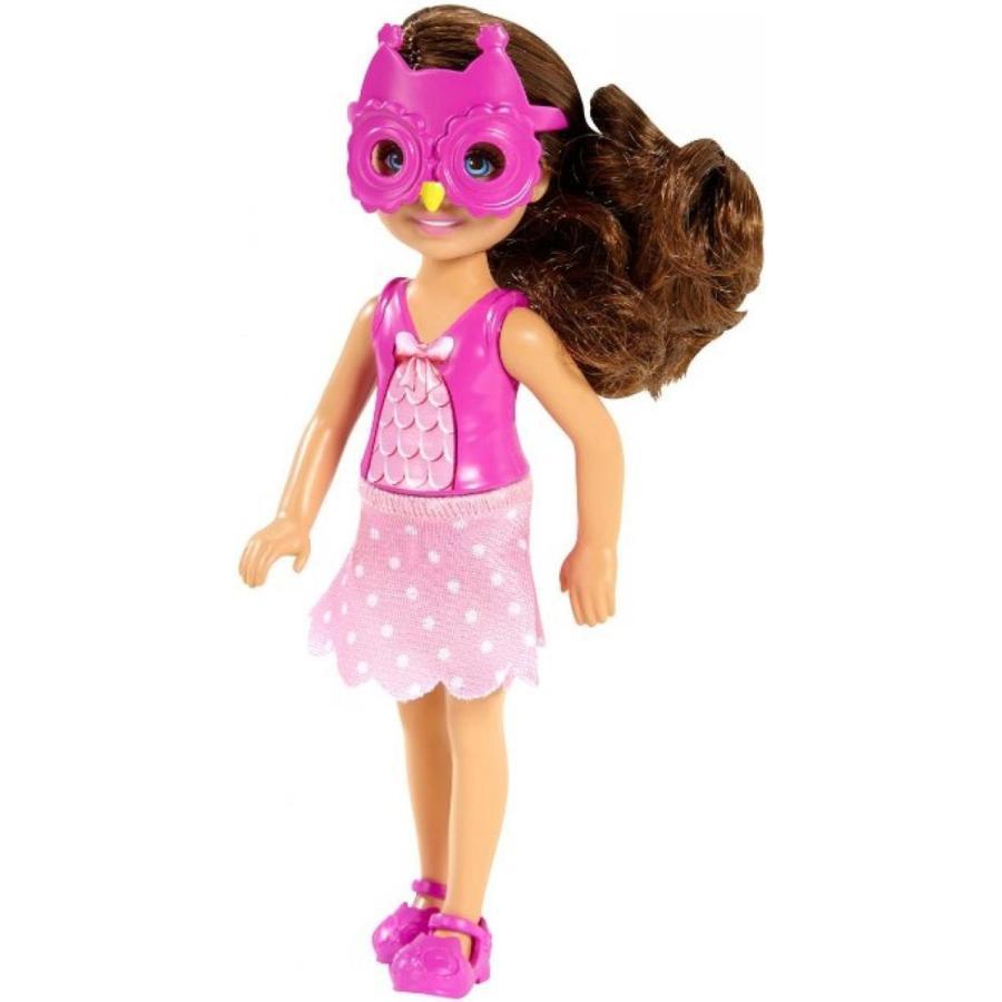 バービー人形 着せ替え おもちゃ Barbie Sisters Chelsea and Friends Doll, Owl 輸入品