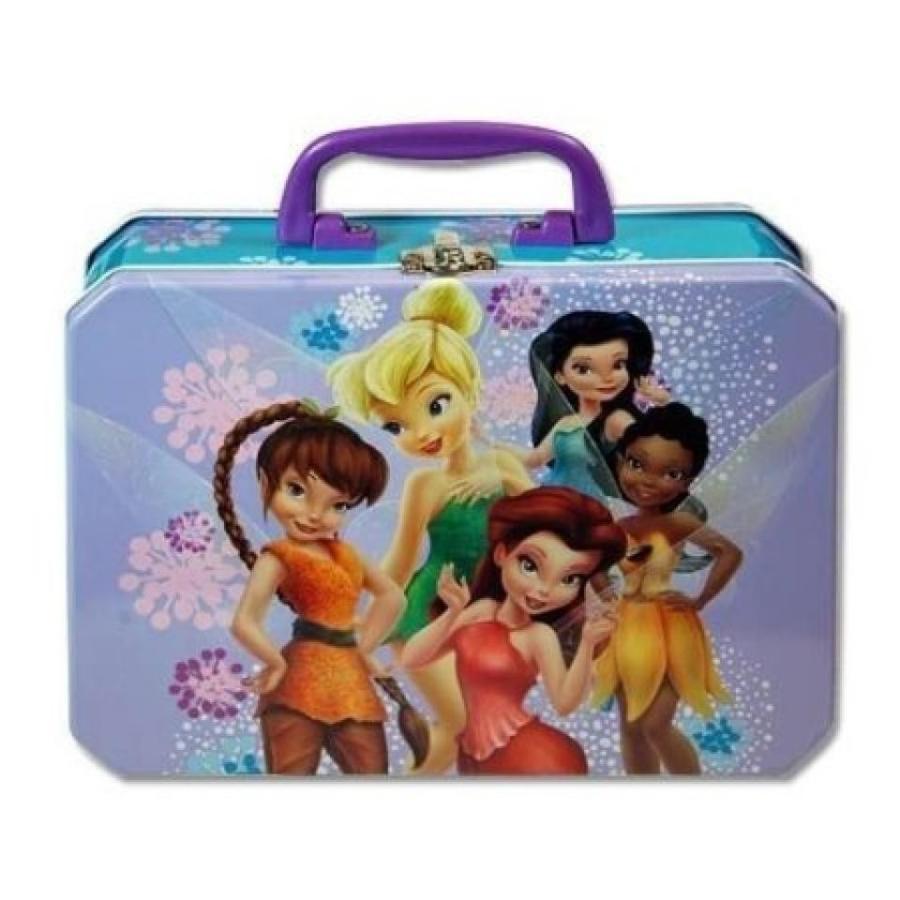 アナと雪の女王 おもちゃ フィギュア Disney Fairies Deluxe Tin Lunch Box 輸入品