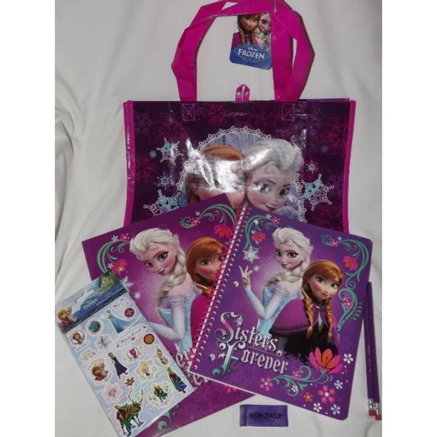 アナと雪の女王 おもちゃ フィギュア Frozen 7 Pc. Tote Bag, Notebook, Folder Set 輸入品