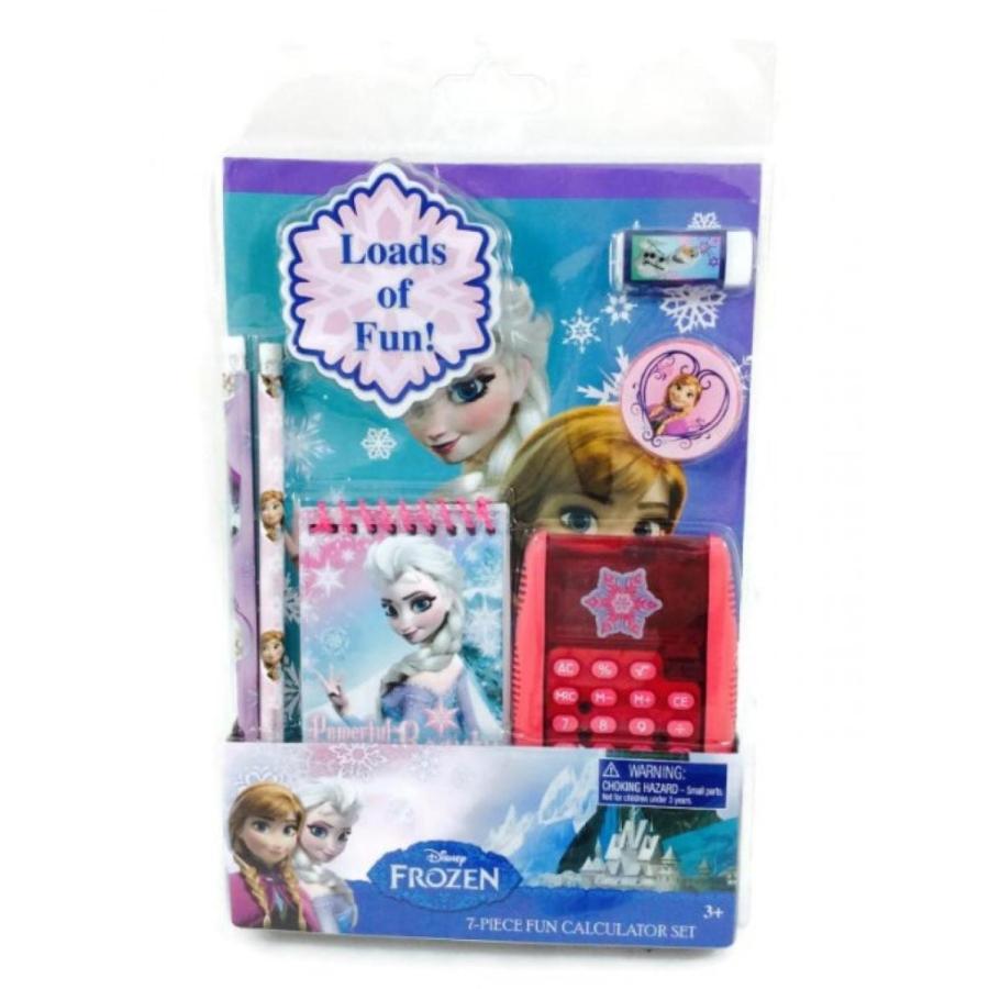 アナと雪の女王 おもちゃ フィギュア Disney Frozen School Supply Stationary 7 pc Set 輸入品