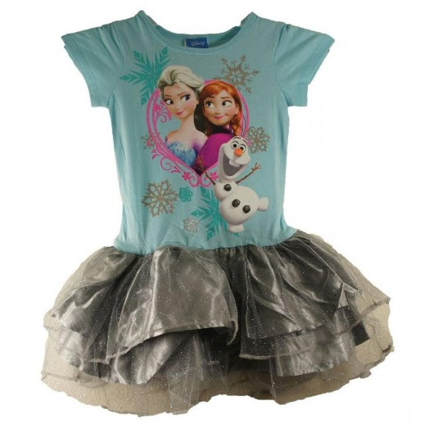 アナと雪の女王 おもちゃ フィギュア Frozen Disney Sisters Anna, Elsa and Olaf Youth Tutu Dress Costume (4/XS) 輸入品
