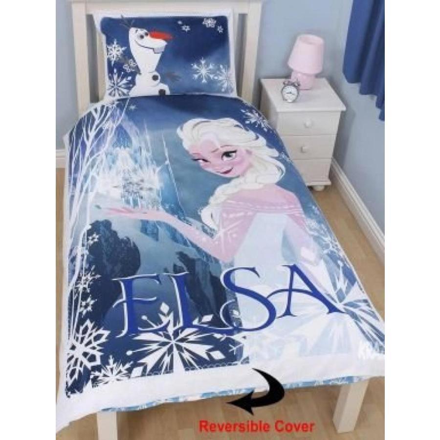 アナと雪の女王 おもちゃ フィギュア Disney Frozen Film Elsa Single Duvet Set 輸入品