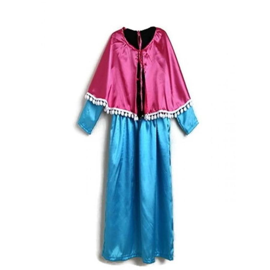 アナと雪の女王 おもちゃ フィギュア KWC - Princess Anna from Elsa Snowflake Snow Dress Costume 輸入品