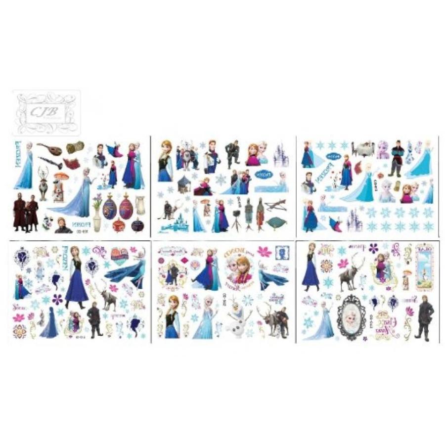 アナと雪の女王 おもちゃ フィギュア CJB Frozen Elsa Anna 90 Mixed Design (in 6 Sheets) Tempo