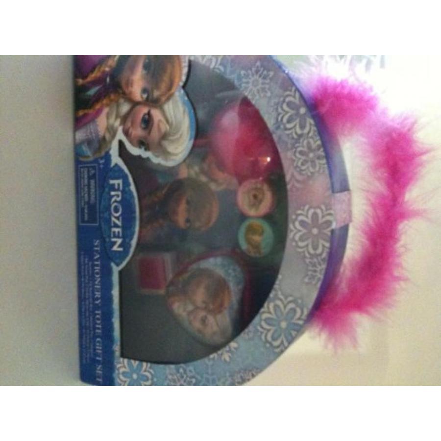 アナと雪の女王 おもちゃ フィギュア Disney Frozen Stationery Tote Gift Set Keepsake Box 輸入品