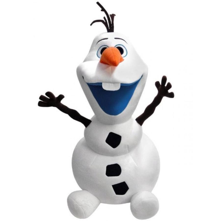 アナと雪の女王 おもちゃ フィギュア Disney Frozen Soft Plush Smiling Olaf Snowman. Total H -