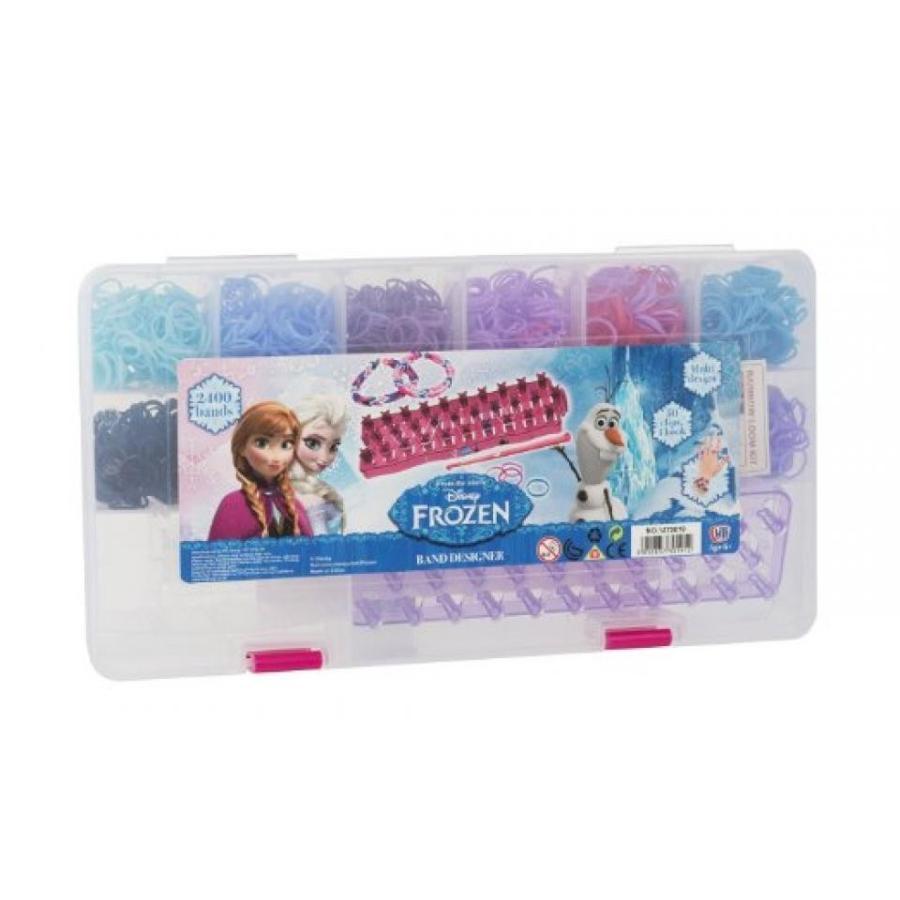 アナと雪の女王 おもちゃ フィギュア Disney Frozen Loom Band Set With 2400 Bands, Loom Board + Storage Box [Toy] 輸入品