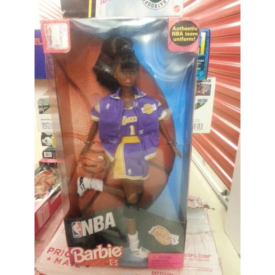 バービー人形 おもちゃ 着せ替え NBA Barbie from Mattel 輸入品