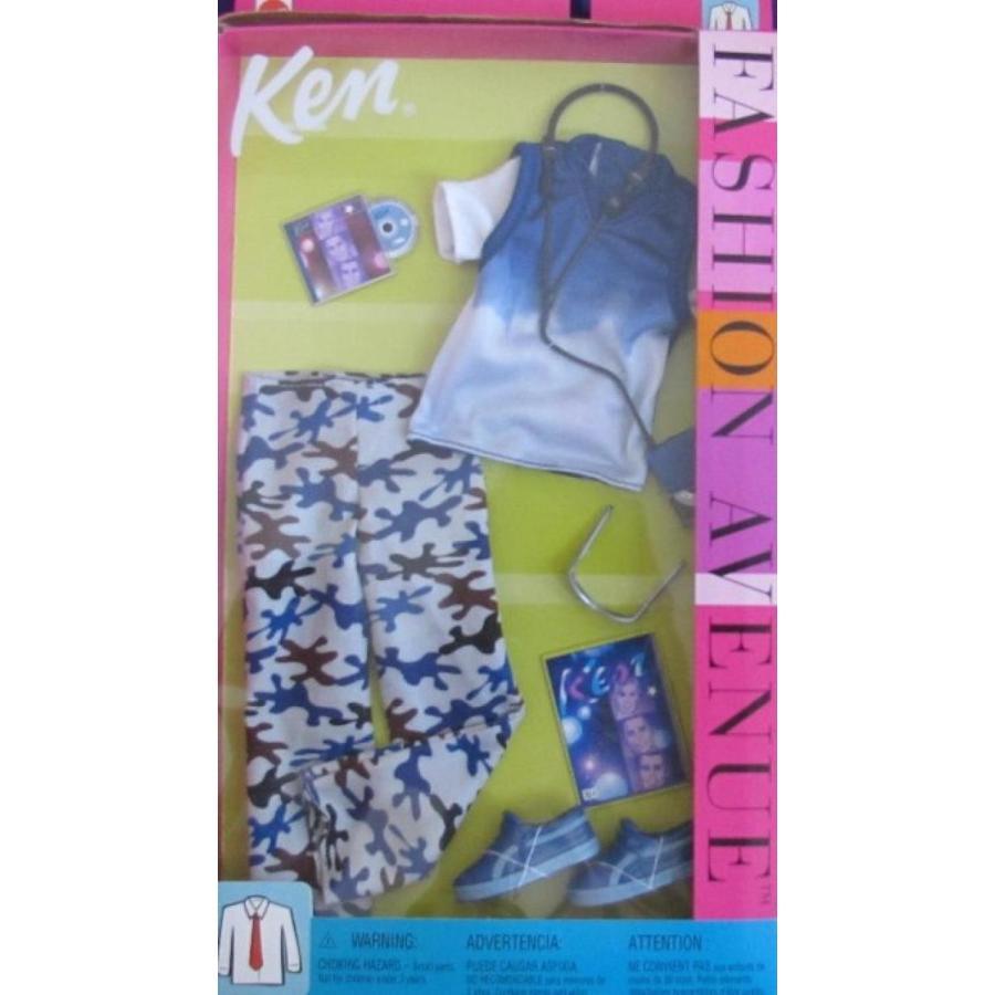 バービー人形 おもちゃ 着せ替え Barbie KEN Fashion Avenue FASHIONS w TIE DYE & CAMOUFLAGE Outfit (2002) 輸入品