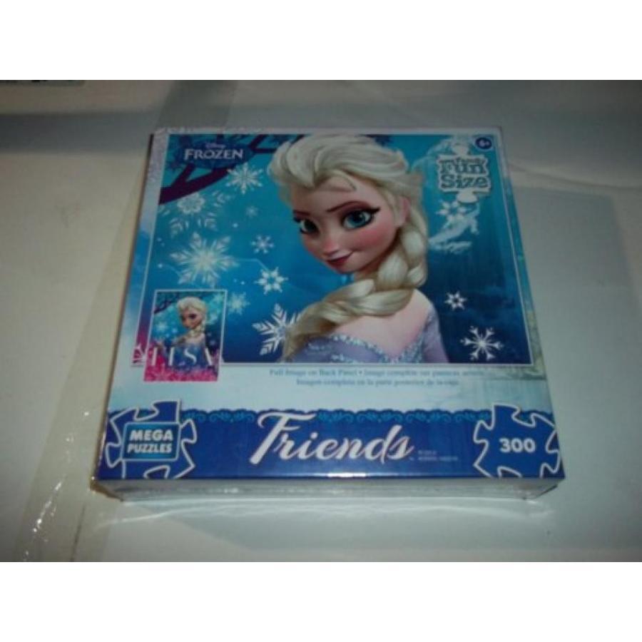 アナと雪の女王 おもちゃ フィギュア Frozen Disney Friends Queen Elsa 300 Piece Puzzle 輸入品