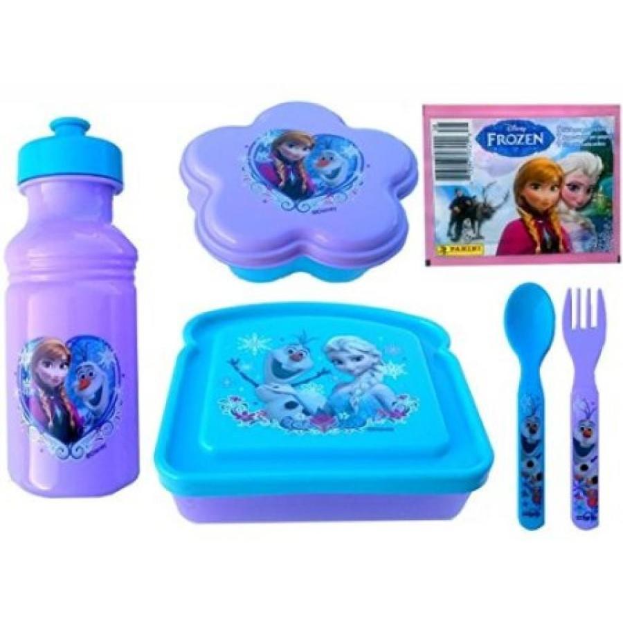 アナと雪の女王 おもちゃ フィギュア Disney's Frozen 紫の & 青 7 Piece Lunch Set - Featri