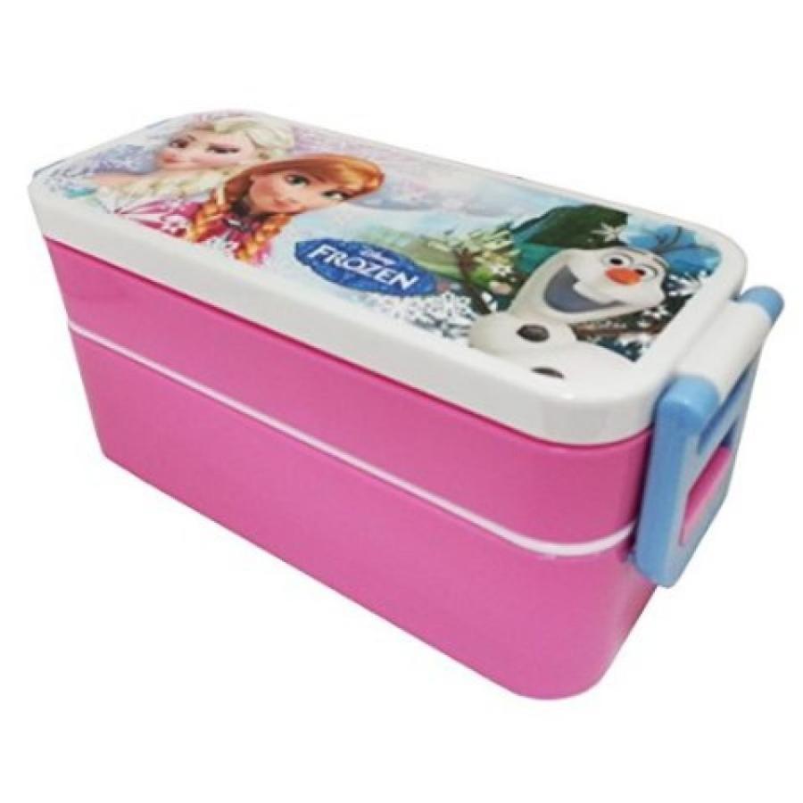 アナと雪の女王 おもちゃ フィギュア Disney Frozen 2Pcs Plastic Lunch Case 輸入品