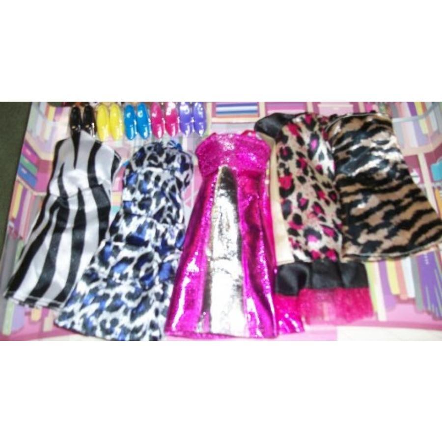 バービー人形 着せ替え おもちゃ Beautiful Dress and Matching Shoes for Barbie or any Barbie Size Dolls 輸入品