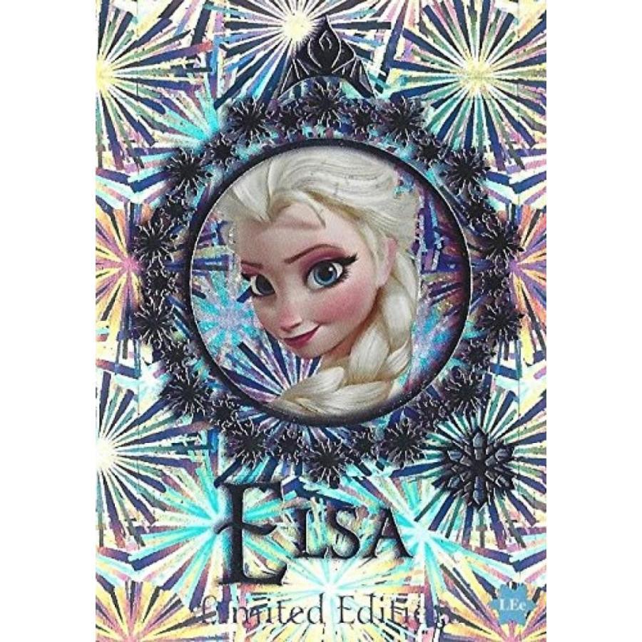 アナと雪の女王 おもちゃ フィギュア Disney Frozen Elsa Limited Edition Trading Card 輸入品