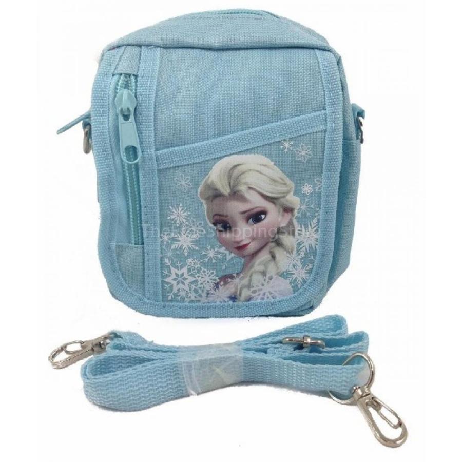 アナと雪の女王 おもちゃ フィギュア Disney Frozen Baby 青 Queen Elsa Camera Bag 輸入品