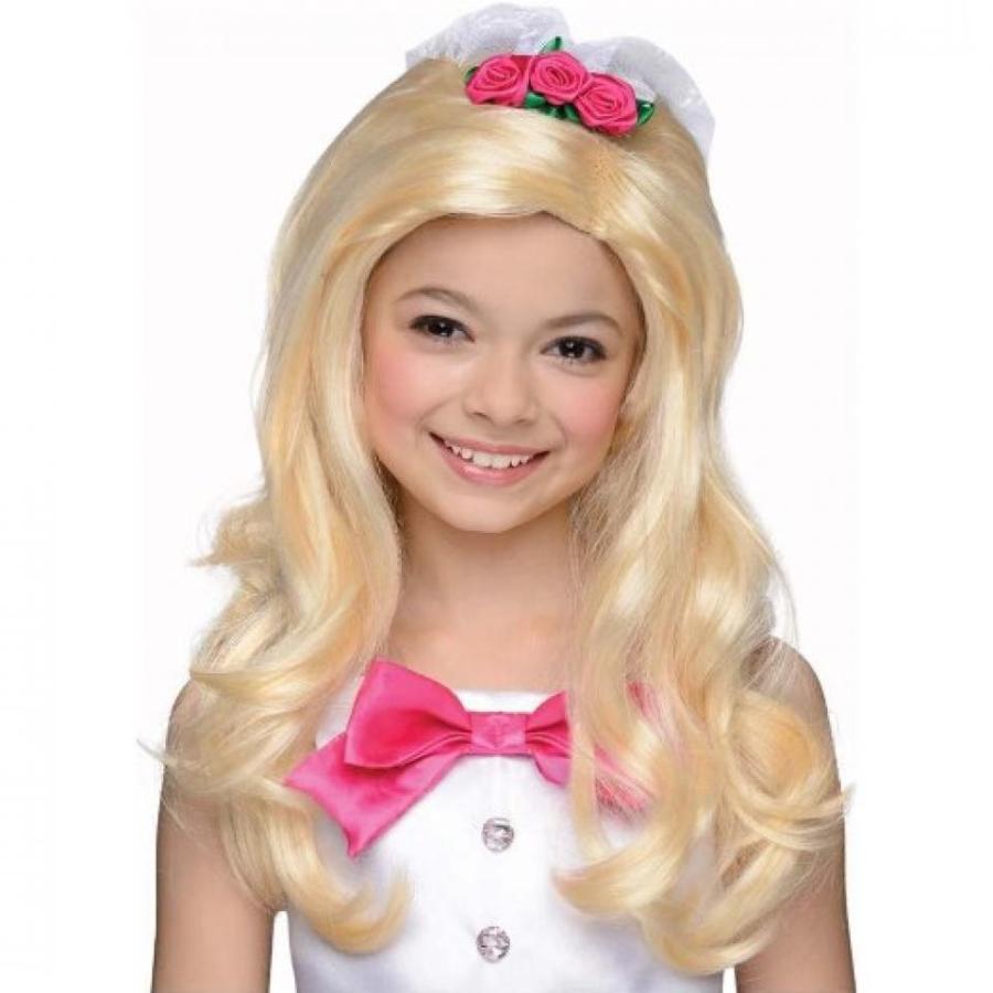 バービー人形 着せ替え おもちゃ Kids Barbie Bride Wig - One Size 輸入品