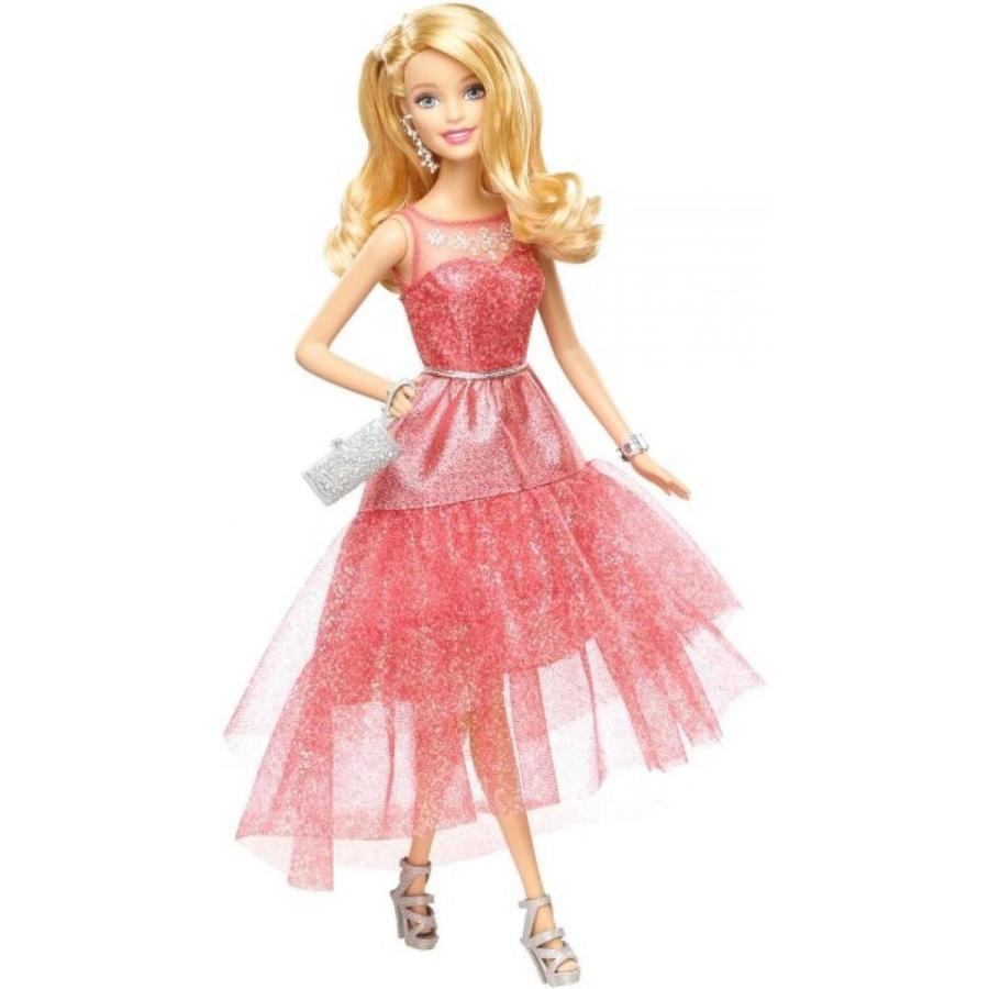 バービー人形 おもちゃ 着せ替え Barbie Signature Style Barbie Doll with ピンク Sparkle Gown 輸入品