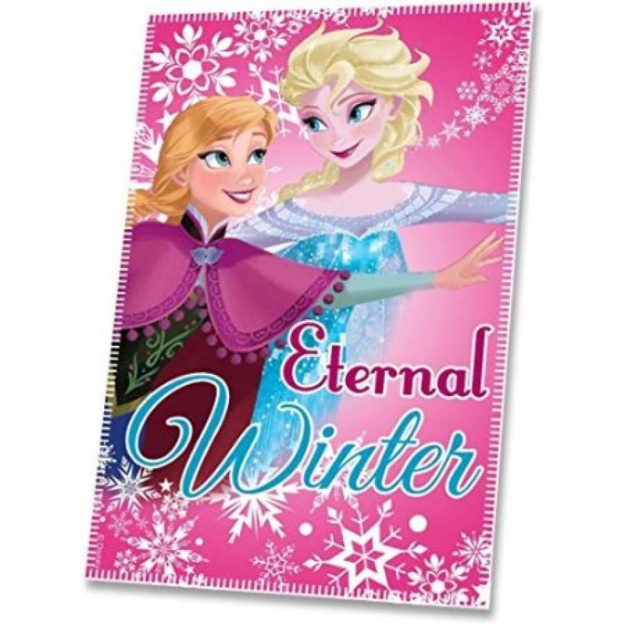 アナと雪の女王 おもちゃ フィギュア Official Disney Frozen Fleece Throw Blanket Princess Elsa & Anna Sisters 輸入品