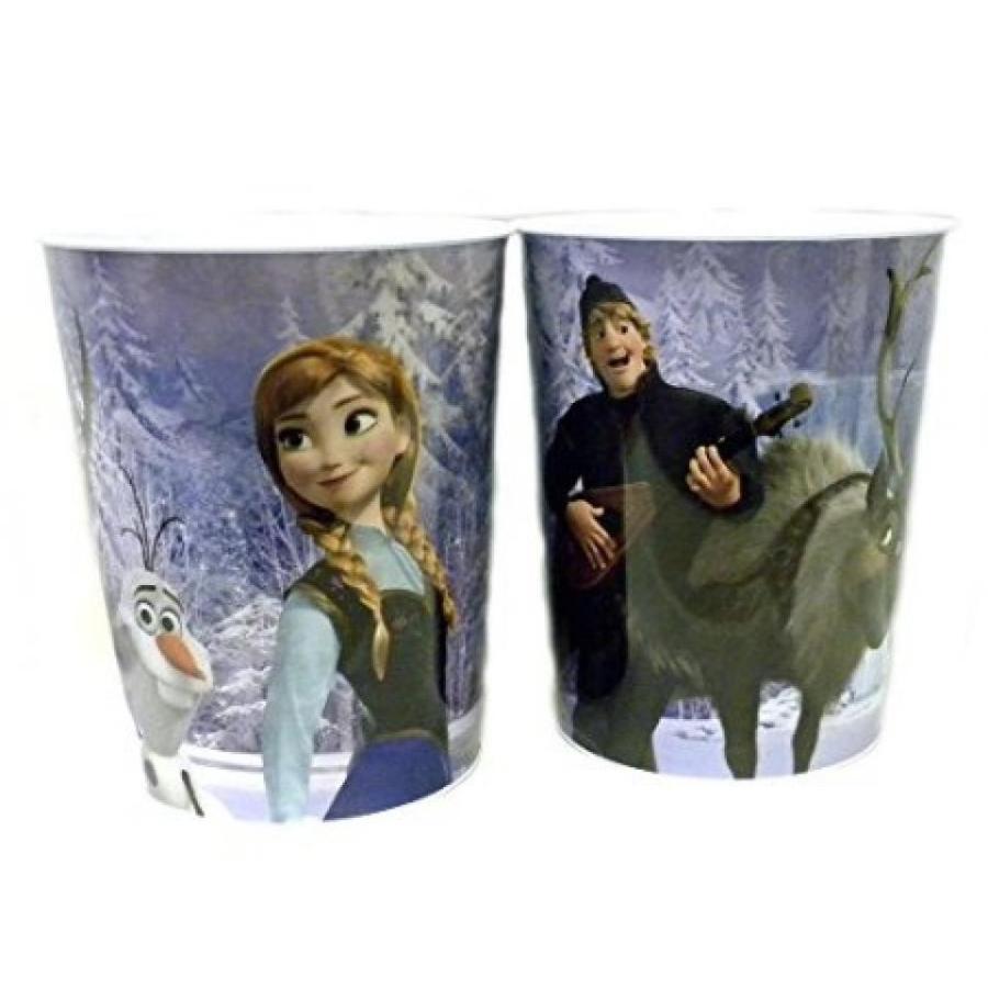 アナと雪の女王 おもちゃ フィギュア Disney Frozen Tin Wastebasket-Elsa and Anna or Anna, Kristoff and Olaf 輸入品