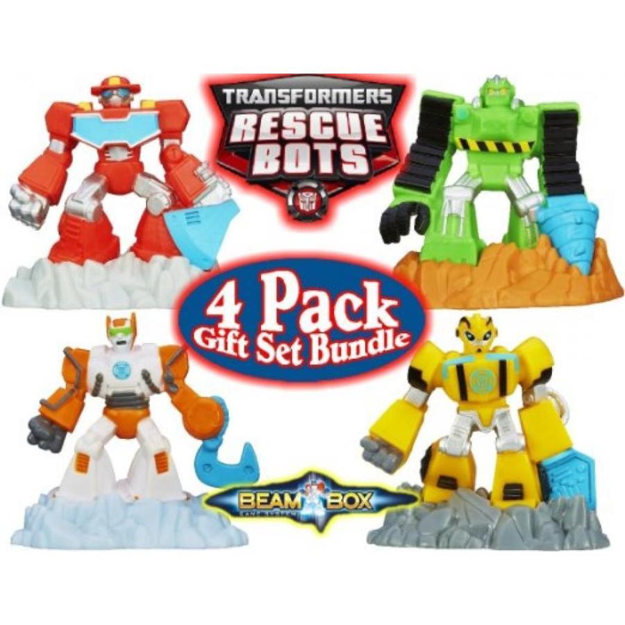 トランスフォーマー おもちゃ 変形 合体ロボ Transformers Playskool Heroes Rescue Bots Robot Beam