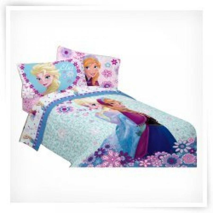 アナと雪の女王 おもちゃ フィギュア Disneys Frozen Warm Heart Twin/Full Comforter hot new design! 輸入品