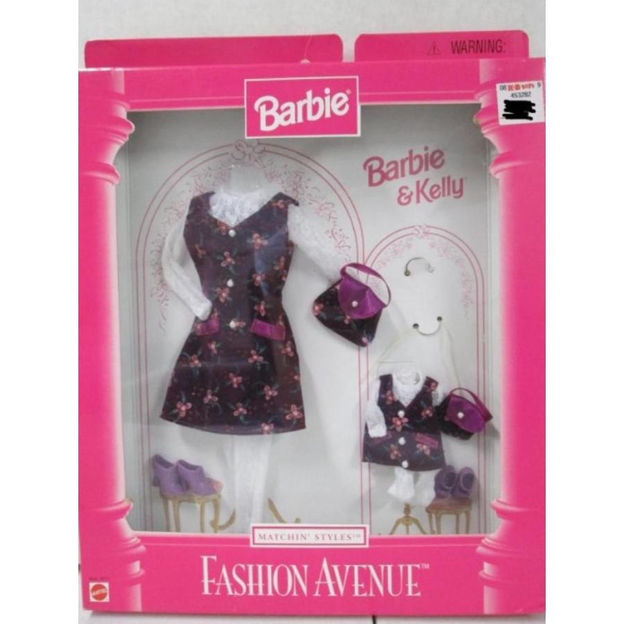 バービー人形 おもちゃ 着せ替え Barbie Fashion Avenue Barbie & Kelly Matchin' Syles