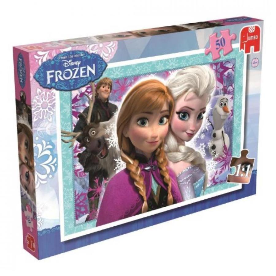 アナと雪の女王 おもちゃ フィギュア 3X Disney Frozen 50 Piece Jigsaw Puzzle [Kitchen & Home] 輸入品