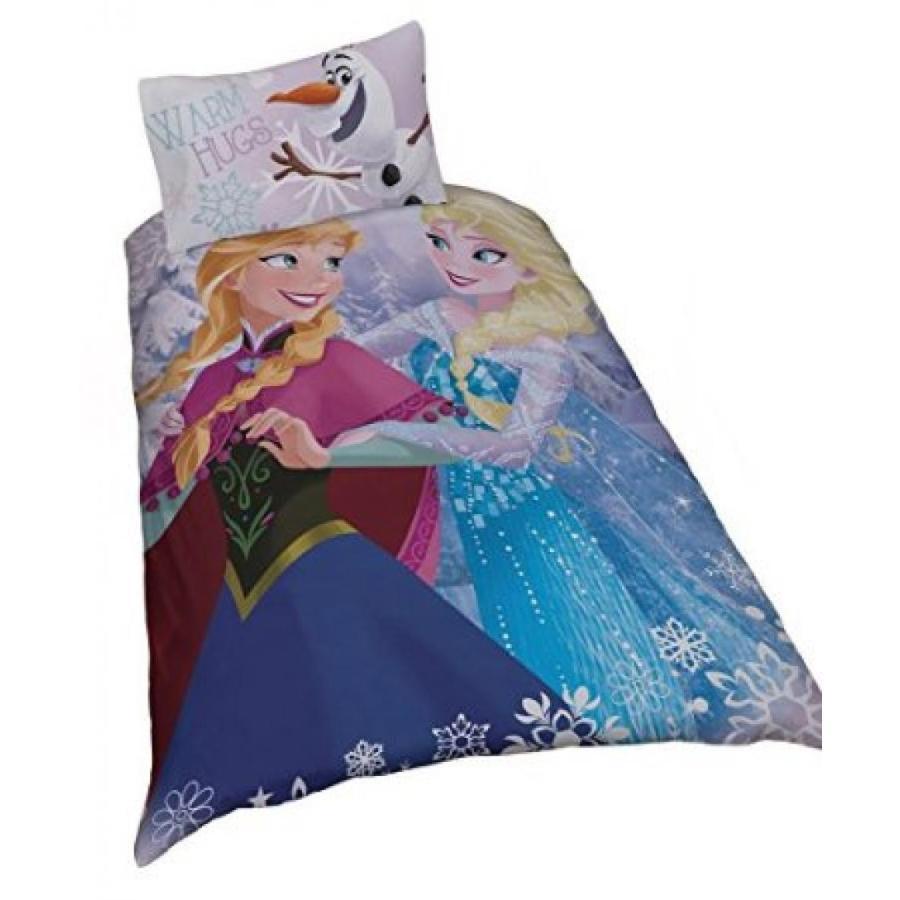 アナと雪の女王 おもちゃ フィギュア Single Disney Frozen Crystal Elsa Anna And Olaf Duvet Cover Set 輸入品