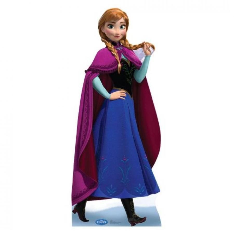 アナと雪の女王 おもちゃ フィギュア Disney Frozen Anna Life-size Cutout 輸入品